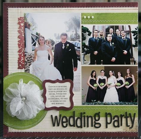 Wedding Album Scrapbook Ideas by Wedding Scrapbooking Wedding Idea Scrapbook Ideas