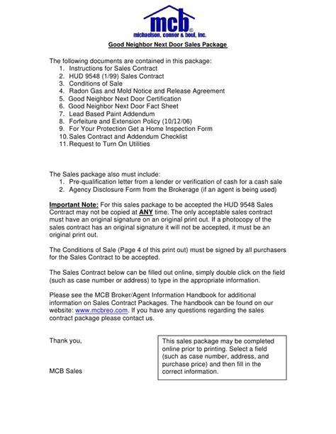 Letter Of Agreement Between Neighbors next door contract