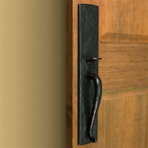 Exterior Door Pulls Bullock Solid Bronze Entrance Set With Lever Handle Door Handles And Locks Hardware