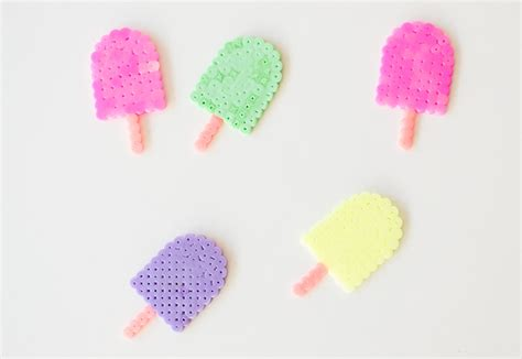 and easy hama bead designs lollies