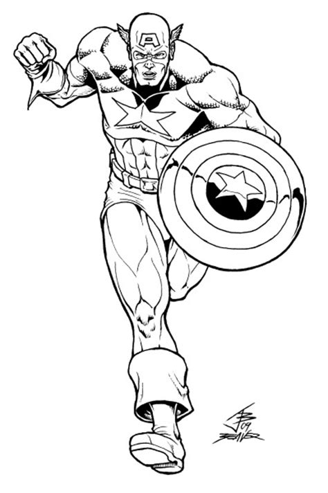 Captain America Shield Coloring Pages Captain America Shield Coloring Page