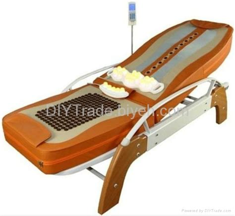 roller bed ceragem therapy jade roller massage bed with back lifting