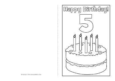 black and white birthday card template free birthday card colouring templates sb11416 sparklebox