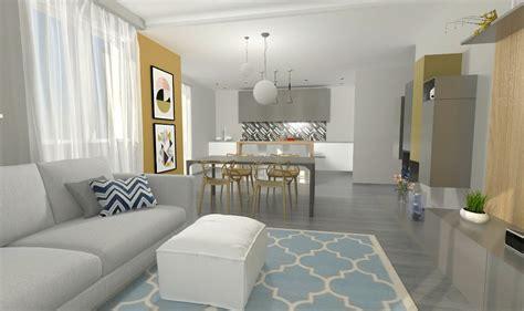 di casa come arredare un open space cucina e soggiorno la casa di