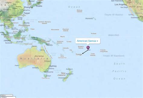 map american samoa american samoa map and american samoa satellite images