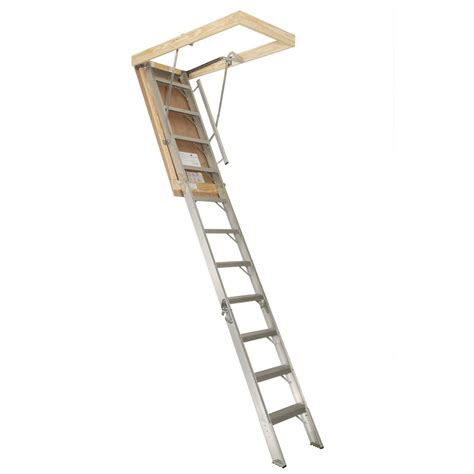 high quality garage attic ladders 4 aluminum attic stairs