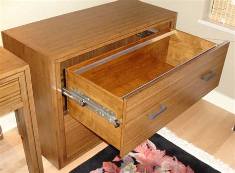 Wooden Drawer Glides by File Cabinet Design Locking Wood File Cabinet Bamboo