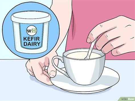 cara membuat yogurt kefir 3 cara untuk membuat kefir wikihow