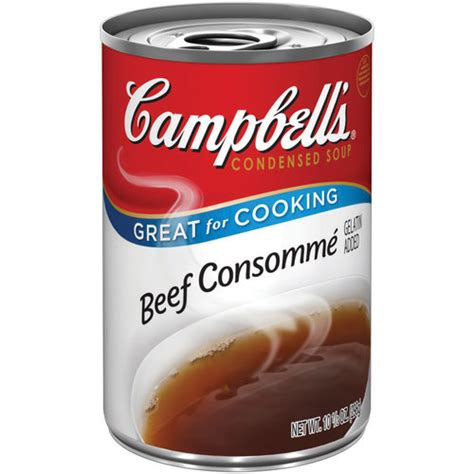 cbell s beef consomme condensed soup 10 5 oz walmart com