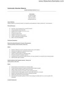 resume with volunteer experience template best photos of volunteer cover letter template volunteer