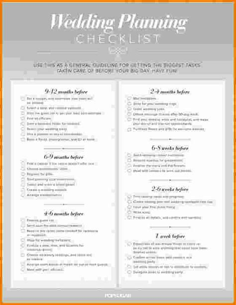 easy free printable wedding checklist 5 simple wedding planning checklist expense report