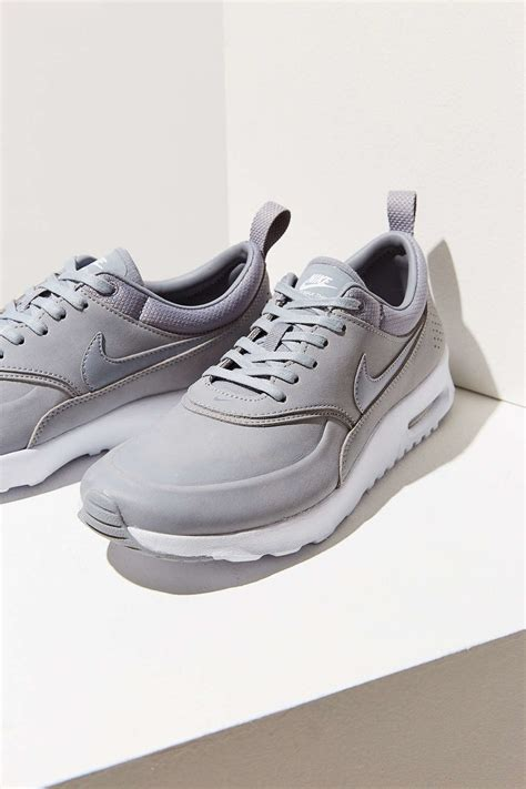 Nike Air Max Thea Grey nike air max thea premium sneaker in gray lyst