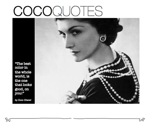 coco quotes coco chanel on colors frock fork