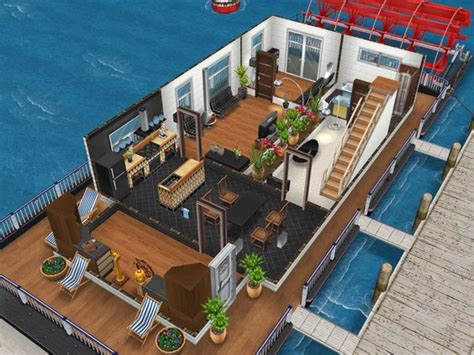 sims freeplay house design sims freeplay house design houseboat 1 mincraft pinterest haus design uhren