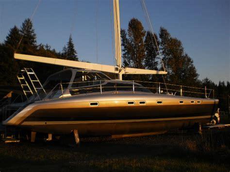 catamarans for sale washington 2018 pedigree catamarans pcb52 sailboat for sale in washington