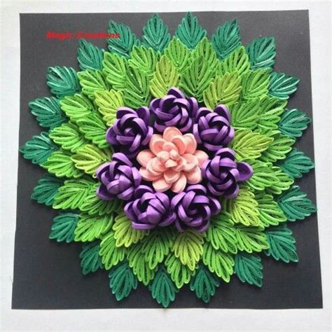 paper quilling wall frames tutorial by magic creations paper quilling wall frames pinterest