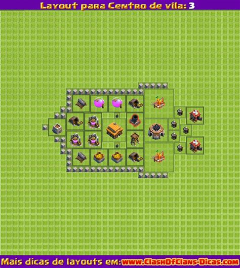 layout vila nivel 2 melhores layouts para clash of clans centro de vila n 237 vel