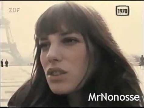 yo jane yo te amo yo toco serge gainsbourg y jane birkin 1970 youtube