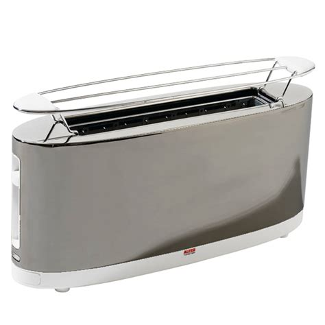 Tostapane Alessi by Alessi Toaster Sg68 Steel White Design Shop