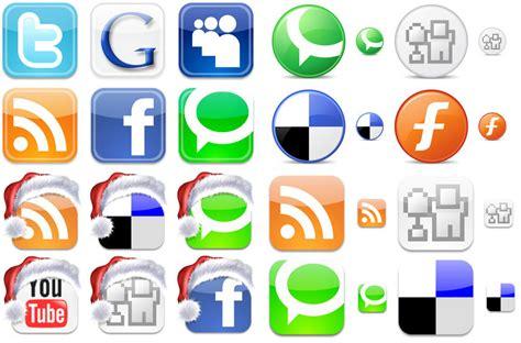 imagenes redes sociales iconos selecci 243 n de algunos juegos de iconos sociales y redes