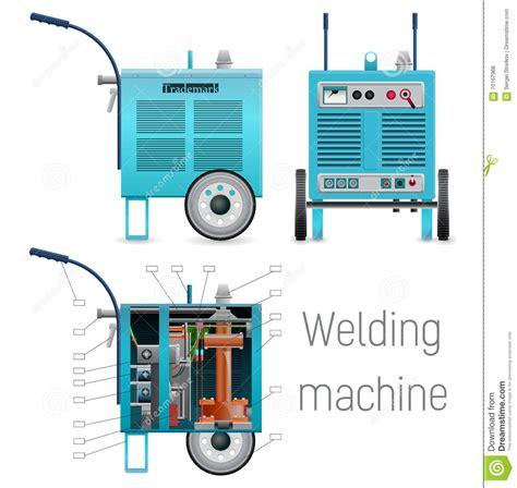 software alimentazione alimentazione mobile della saldatura illustrazione