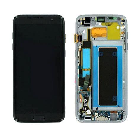 Lcd Samsung S7 Edge Black samsung g935f galaxy s7 edge lcd display module black gh97 18533a parts4gsm