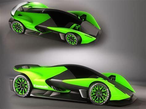 Kawasaki Auto by Concept Cars 2000 Kawasaki Zx 770r Hypercar Concept By
