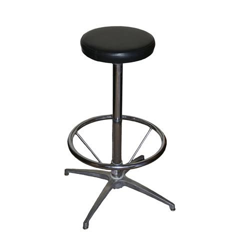 Padded Bar Stools Bar Stool Deluxe Padded Seat And Foot Ring