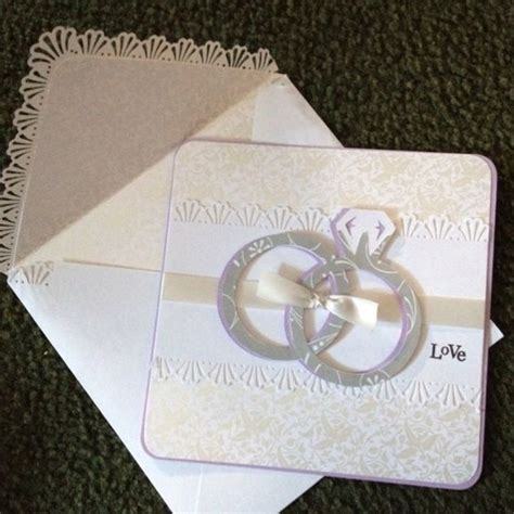 cricut bridal shower card ideas wedding card made with cricut cartridge wedding ribbon and st mixed messages from