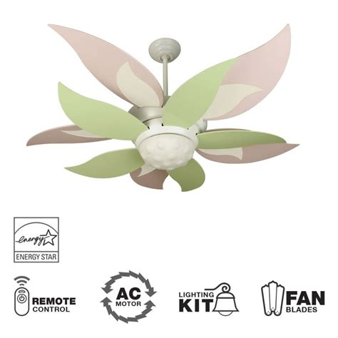 blooming flower ceiling fan craftmade k10367 white bloom 52 quot 10 blade energy star
