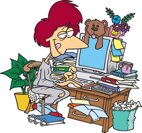 office clipart clean