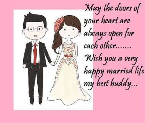 Wedding Wishes Quotes For Best Friend by Happy Wedding Wishes Greeting Cards For Best Friend