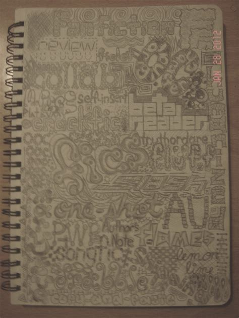 doodle notebook fanfiction net images doodle in notebook hd wallpaper and