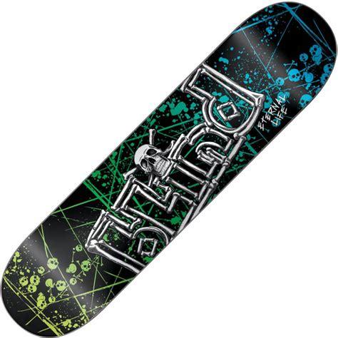 Blind Skateboard Blind Skateboards Blind Eternal Life Skull And Bones Deck