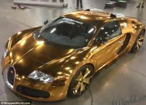 How Many Bugatti Veyron In The World Flo Rida S Gold Bugatti Rapper Spares No Expense As He