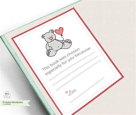 Bookplates Printable Bookplates Book Plates Baby Shower Baby Shower Bookplate Template