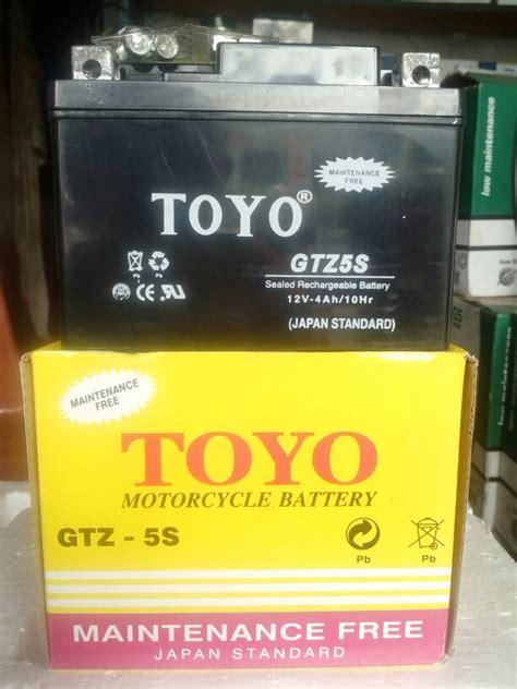 jual aki accu motor toyo gtz5s mf berkah battery