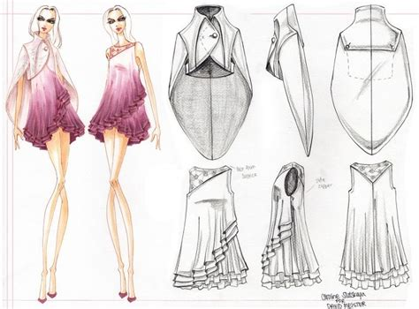 74 best images about copic fashion illustration on