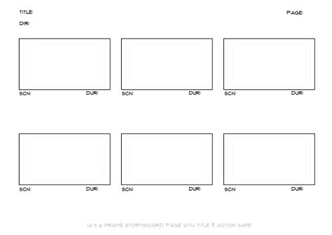 storyboard template word storyboard template printable pdf word find all