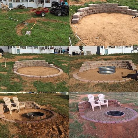 build pit on hill b877c6c09fa78f5dfe3a5a2fb357c860 jpg 960 215 960 pixels patios decks and pits