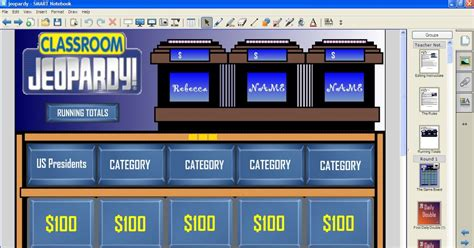 The Science And Technology Lady Classroom Jeopardy For Jeopardy For Smartboard