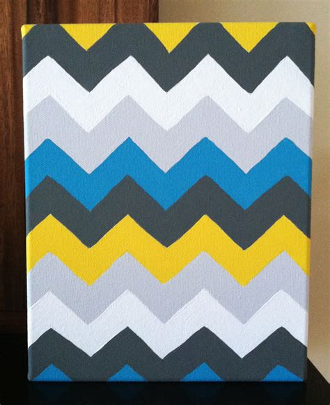 chevron template for painting diy chevron painting the modern homestead