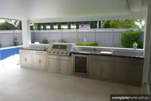Modern Kitchen Benchtops - three top barbeques amp outdoor kitchens for this summer completehome