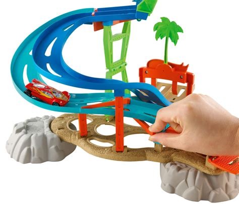 Driftsta Car Track Hotwheels wheels 174 race rally water park play set shop wheels cars trucks race tracks