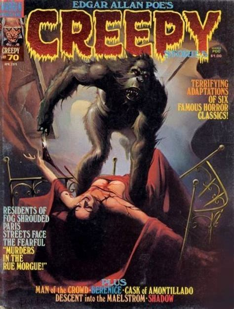 Creepy Books Covers Energy 184 best images about 70s horror comics on