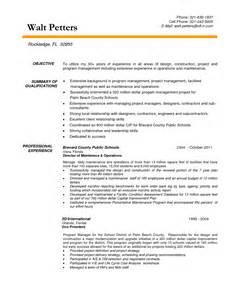 resume facility manager 2