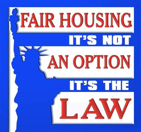 fair housing laws fair housing laws california what are they why do they