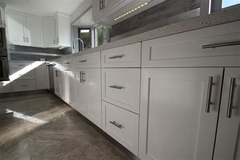 amish kitchen cabinets contemporary shaker style sleek white shaker cabinets are perfect for modern kitchen