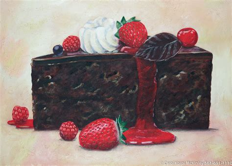 cake painting the and still lifes collection carol korpi