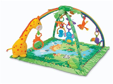 Play Mats For Baby by Fisher Price Rainforest Melodies Lights Deluxe Baby